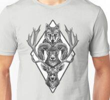 Wolfram Hart (B&W) Unisex T-Shirt