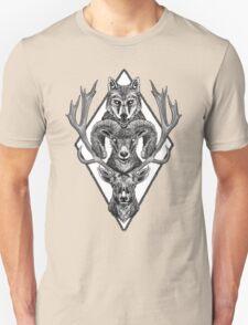 Wolfram Hart (B&W) T-Shirt