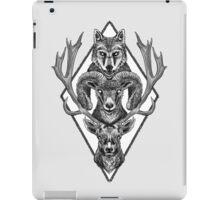 Wolfram Hart (B&W) iPad Case/Skin