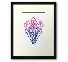 Wolfram Hart (Color) Framed Print