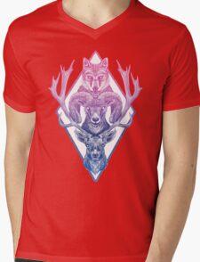 Wolfram Hart (Color) Mens V-Neck T-Shirt