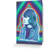 John Paul Jones of Led Zeppelin Greeting Card