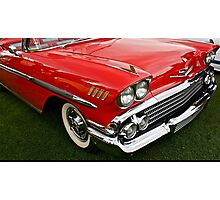 1958 Chevy Impala Photographic Print
