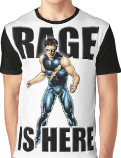 Rage Is Here Graphic T-Shirt