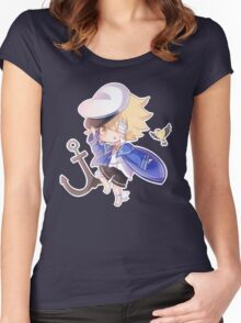 Vocaloid Oliver Chibi Women's Fitted Scoop T-Shirt