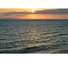 Top Center Sunset Photographic Print