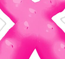 Pink Breast Cancer Awareness Candle Ribbon Sticker
