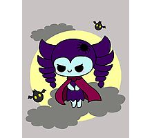 Vampire Girl Photographic Print