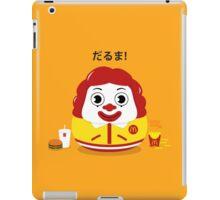 Ronald Daruma iPad Case/Skin