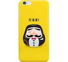 Mr Daruma iPhone Case/Skin