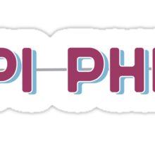 Pi Phi!  Sticker