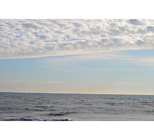 Lake Michigan without the Sun Photographic Print