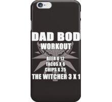 Dadbod The Witcher 3  iPhone Case/Skin
