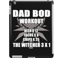 Dadbod The Witcher 3  iPad Case/Skin