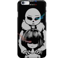 Sans and Frisk iPhone Case/Skin