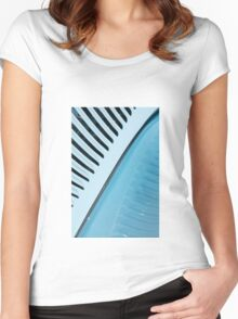 Palm Frond,, 1934 Ford Vicky Style Women's Fitted Scoop T-Shirt