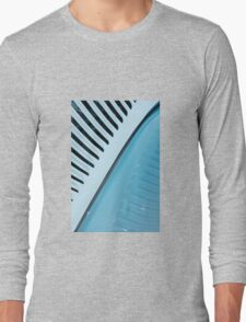 Palm Frond,, 1934 Ford Vicky Style Long Sleeve T-Shirt