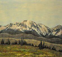 Gore Range by LeighMeinig