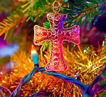 Christmas Cross by DustyHolidays