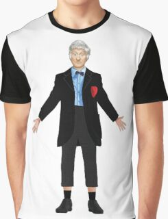 Regenerated 3rd Doctor Graphic T-Shirt
