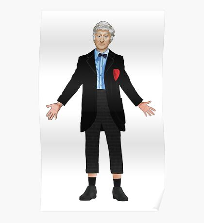 Regenerated 3rd Doctor Poster