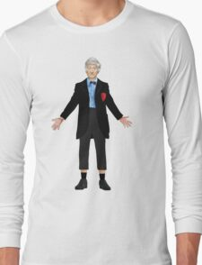 Regenerated 3rd Doctor Long Sleeve T-Shirt