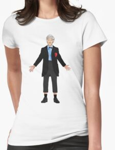Regenerated 3rd Doctor Womens Fitted T-Shirt