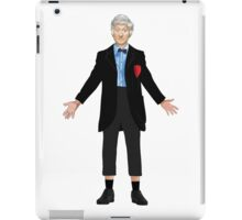 Regenerated 3rd Doctor iPad Case/Skin