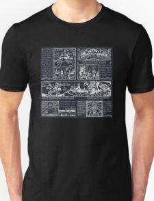 Hero of Time Chalkboard Unisex T-Shirt