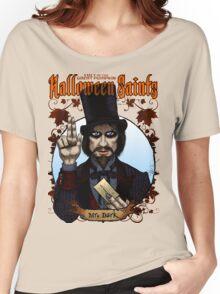 Halloween Saints: Mr. Dark Women's Relaxed Fit T-Shirt