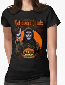 Halloween Saints: Moundshroud Womens Fitted T-Shirt