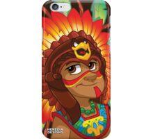 Danza Azteca  iPhone Case/Skin