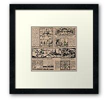 Hero of Time Tapestries Framed Print