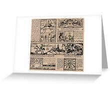 Hero of Time Tapestries Greeting Card