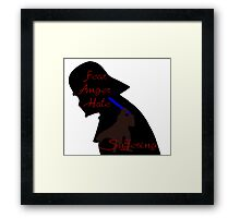 The Path To the Darkside Framed Print