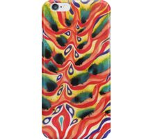 Peacock Pattern Abstract iPhone Case/Skin