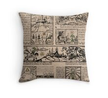 Hero of Time Tapestries Throw Pillow