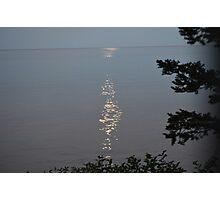 Lake View with a Phantom Sun Photographic Print