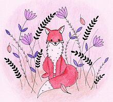 Beautiful Fox in the Garden by harrisrose