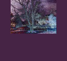Purple Skies of Winter Unisex T-Shirt