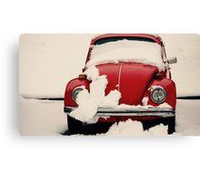 Winter Reds Canvas Print