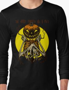 Autumn People 7: Pumpkin Long Sleeve T-Shirt