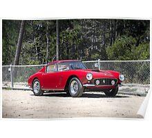 Red Ferrari 250 GT SWB Poster