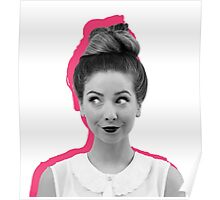 Pink Zoella Poster