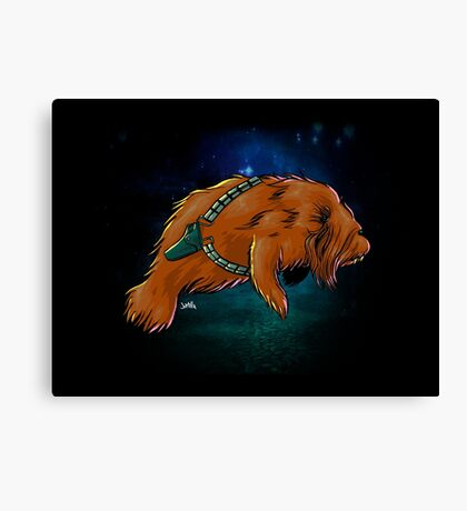 Chewy Manatee Canvas Print