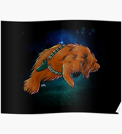 Chewy Manatee Poster