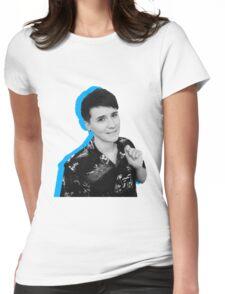 dan blue  Womens Fitted T-Shirt