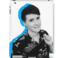 dan blue  iPad Case/Skin