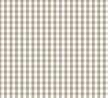 Pussy Willow Mini Gingham Check Plaid by honorandobey