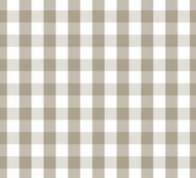 Pussy Willow Mini Gingham Check Plaid Sticker
